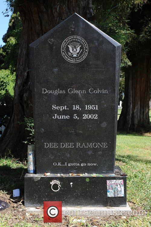 Dee Dee Ramones' Gravesite on his 62nd Birthday...