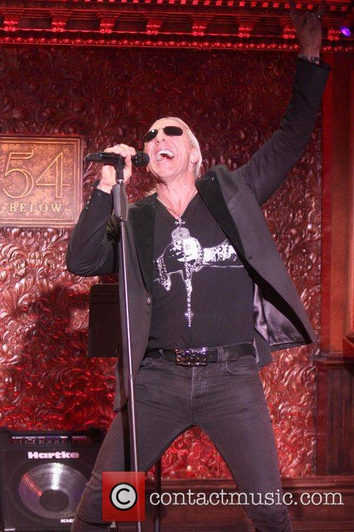 Dee Snider, Twisted Sister, Below and New York City 7