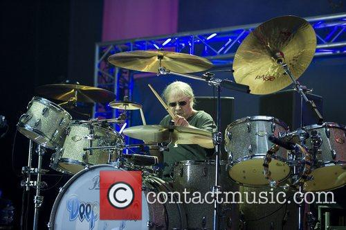 Ian Paice,  of Deep Purple performing at...