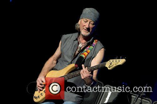 Roger Glover,  of Deep Purple performing at...