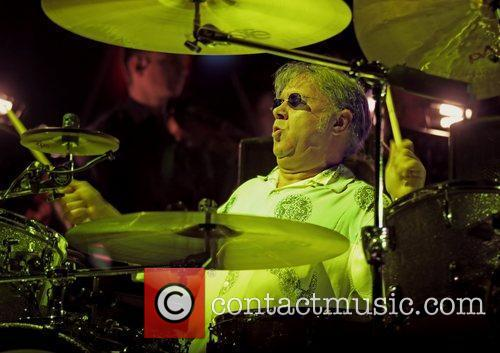 Ian Paice of Deep Purple performing at Manchester...