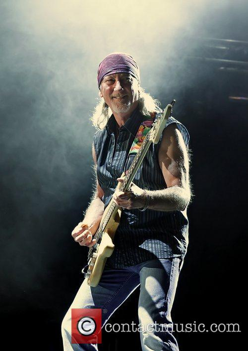 Roger Glover of Deep Purple performing at Manchester...