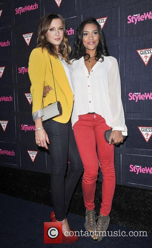Katie Cassidy and Annie Ilonzeh 7