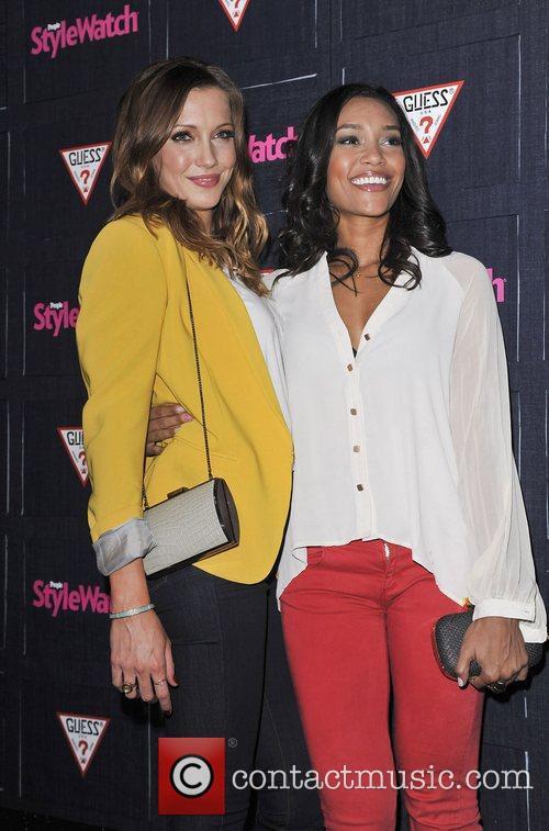 Katie Cassidy and Annie Ilonzeh 10