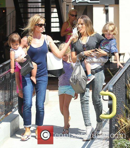 Denise Richards, Brooke Mueller and Charlie Sheen 6