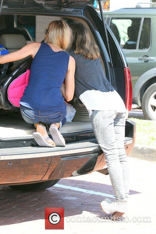 denise richards and daughters sam lola and 4069340