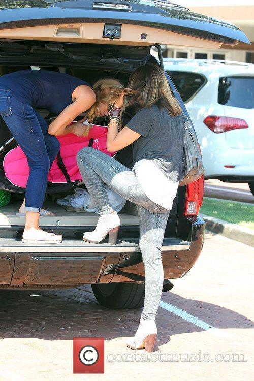 Denise Richards, Brooke Mueller and Charlie Sheen 20
