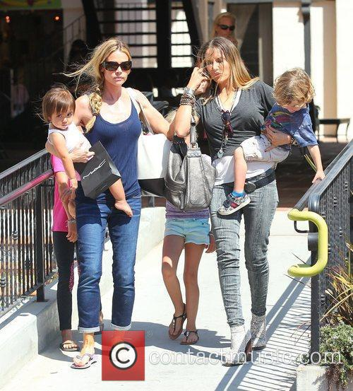 denise richards and daughters sam lola and 4069348