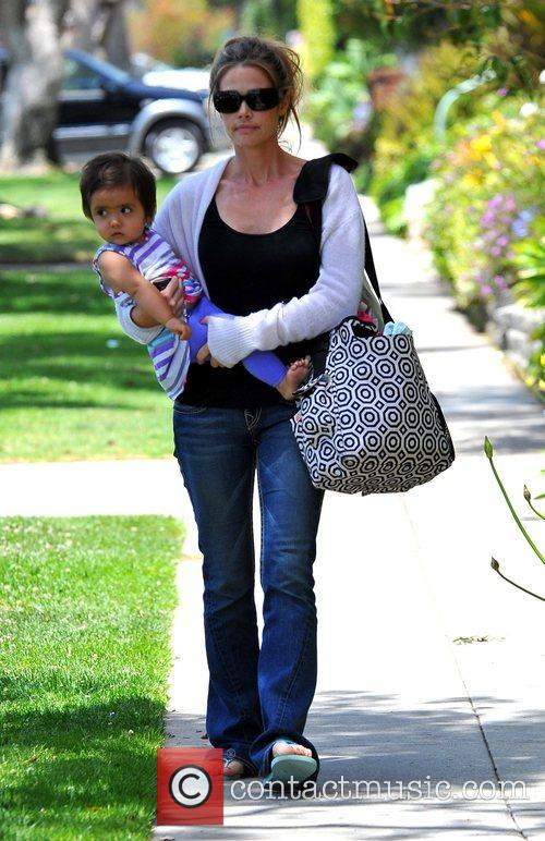 Denise Richards takes her daughter Eloise Joni to...