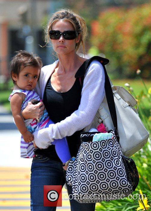 Takes her daughter Eloise Joni to the doctor's...