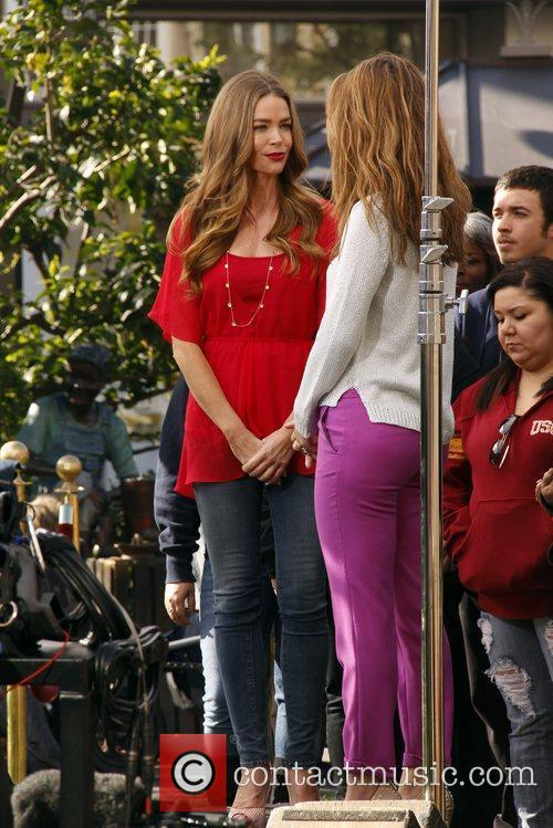 Denise Richards and Maria Menounos 4