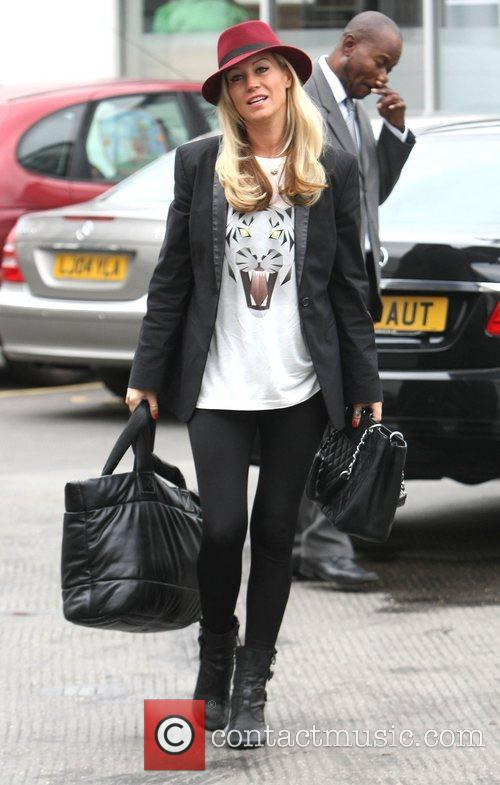 Arrives for her 'Strictly Come Dancing' rehearsals
