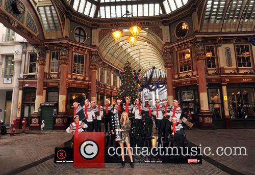 Denise, Outen, Christmas, Britain's Got Talent, Blue and Leadenhall Market 16