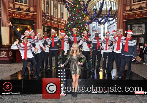 Denise, Outen, Christmas, Britain's Got Talent, Blue and Leadenhall Market 17