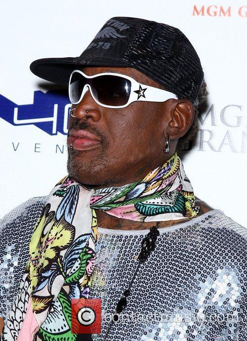 dennis rodman hosts a st patricks day 3785029