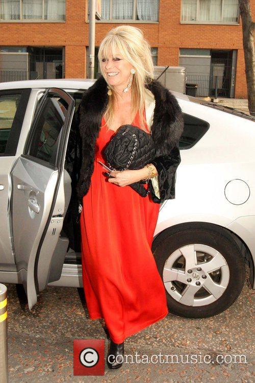 Jo Wood Celebrities arrive at the recording of...