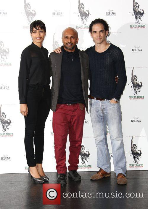 Freida Pinto, Akram Khan and Reece Ritchie 11