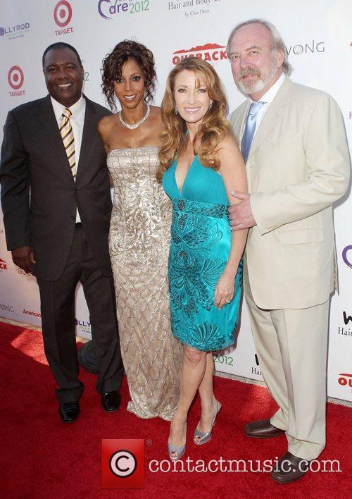 Holly Robinson Peete, James Keach, Jane Seymour and Rodney Peete 2