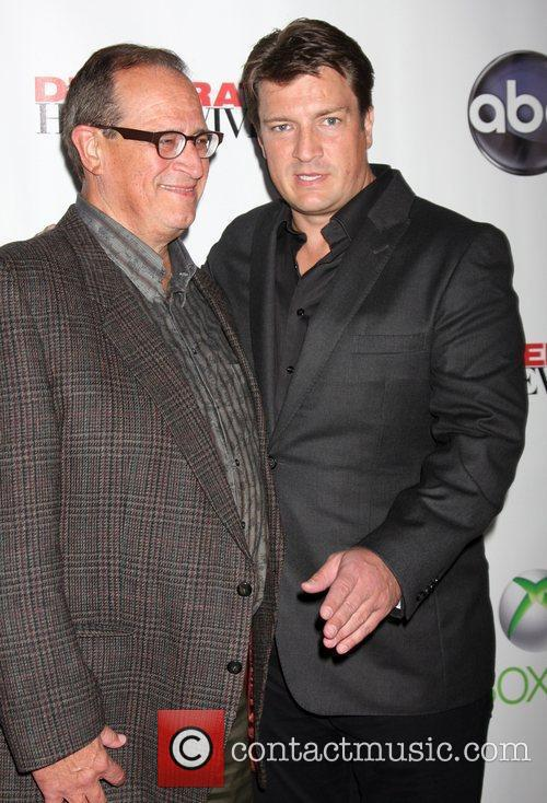 Bob Fillion, Nathan Fillion 'Desperate Housewives' finale party...