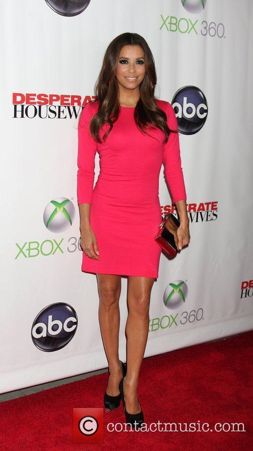 Eva Longoria 'Desperate Housewives' finale party held at...
