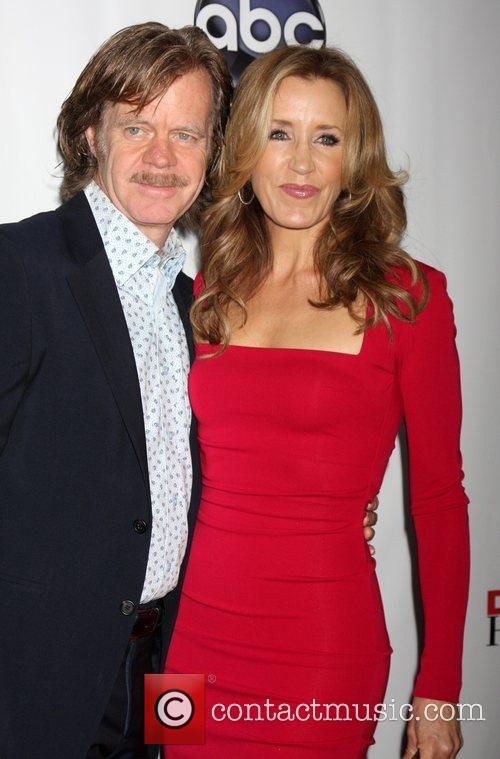 William H Macy and Felicity Huffman 1