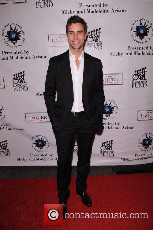 Colin Egglesfield attends  Destination Fashion 2012 To...