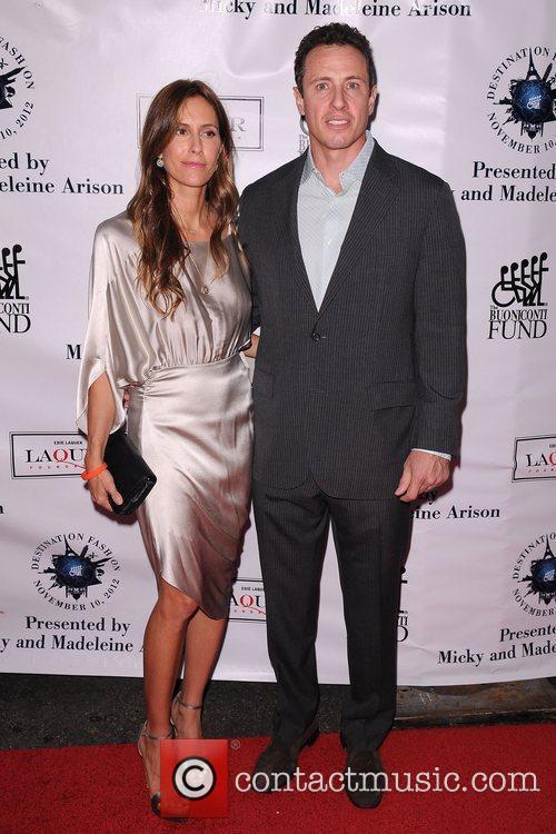 Cristina Cuomo and Christopher Cuomo  attends...