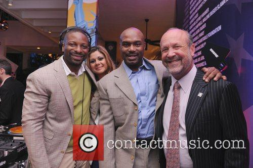 DJ Irie, Guest, Tim Hardaway and Ron Brook...
