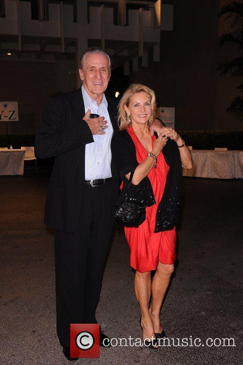 Pat Riley and Chris Riley  attends...