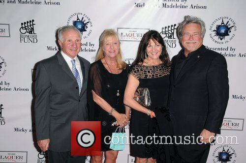 Tom Brokaw, Lynn Buoniconti, Madeleine Arison and Micky Arison 3