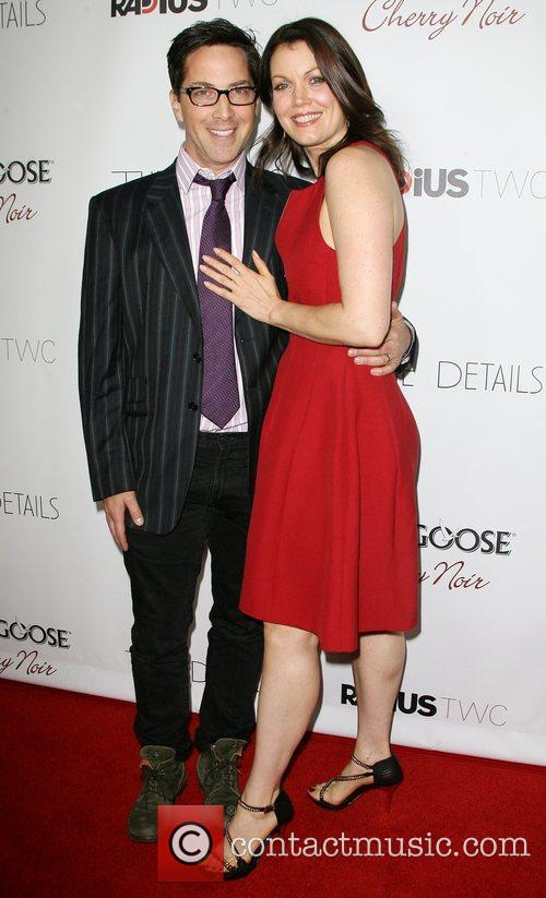 Dan Bucatinsky and Bellamy Young