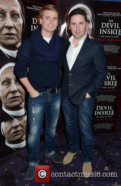Brian Ormond and Neil McCarthy Premiere of 'Devil...