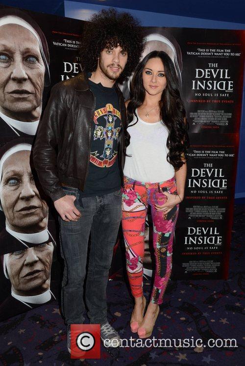 Carl Shabaan and Audrey Hamilton Premiere of 'Devil...