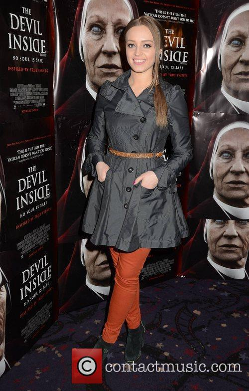 Diana Bunici Premiere of 'Devil Inside' held at...