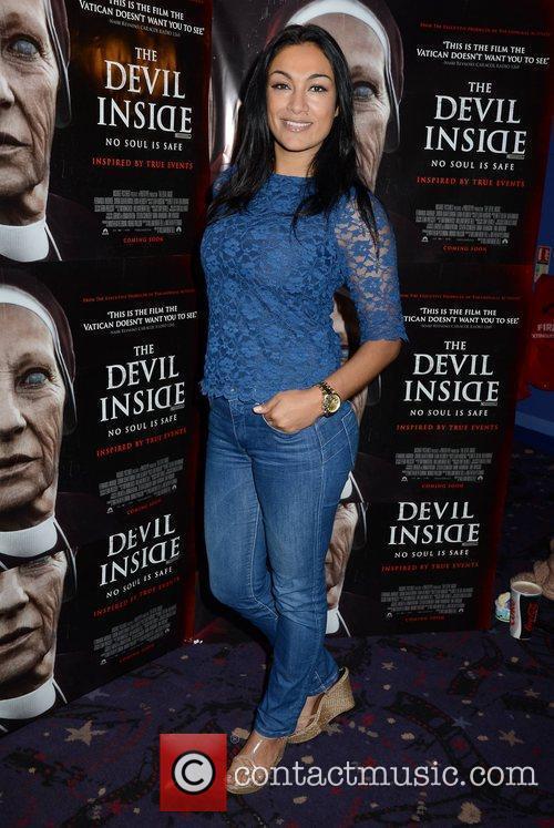 Gail Kaneswaren Premiere of 'Devil Inside' held at...