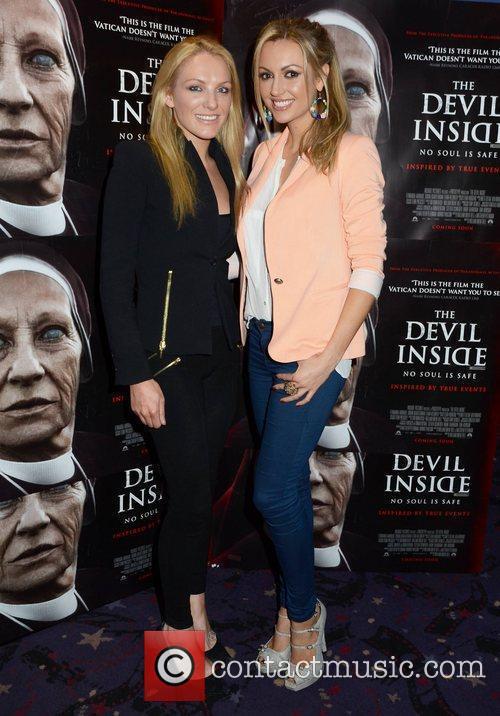 Premiere of 'Devil Inside' held at Cineworld Dublin...