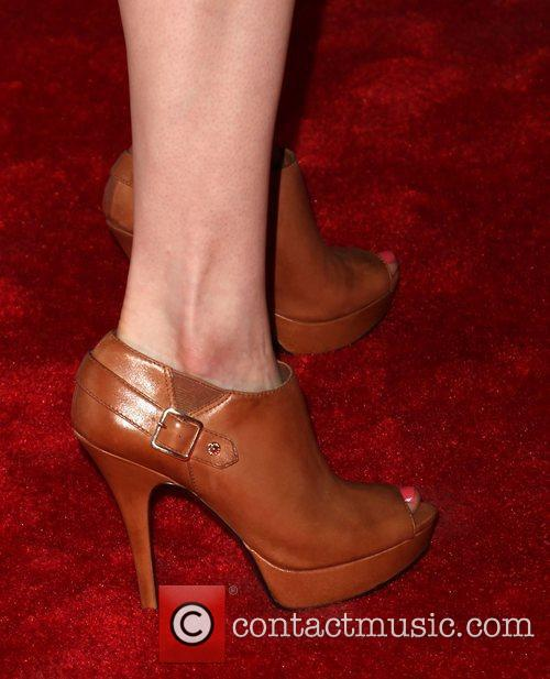 Mariana Klaveno (shoe detail) attends the season 6...
