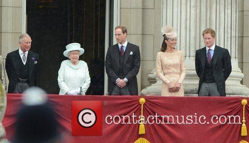 Prince Charles, Prince Harry, Prince William and Queen Elizabeth Ii 2