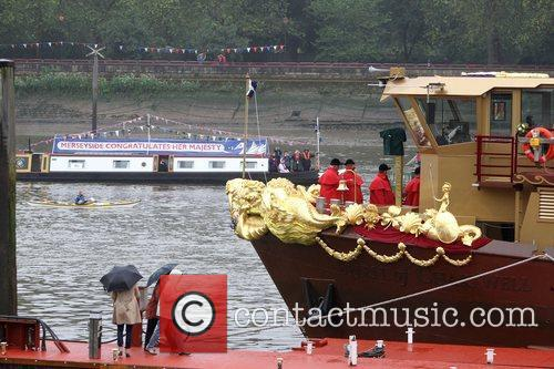 The Queen's Diamond Jubilee River Pageant Flotilla