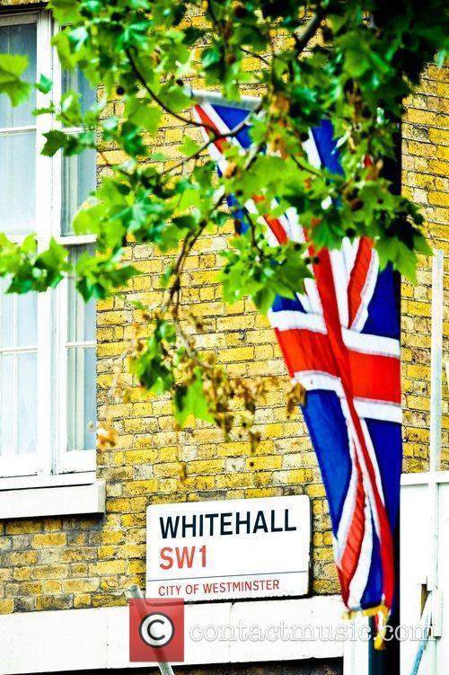 atmosphere diamond jubilee procession london england   050612 5859268