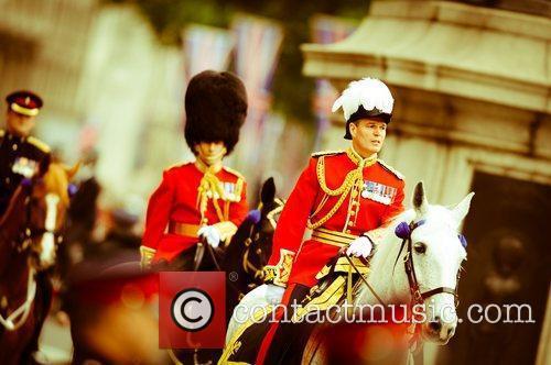 atmosphere diamond jubilee procession london england   050612 5859269