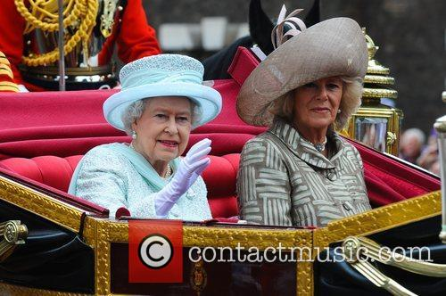 Queen Elizabeth II, Camilla, Duchess of Cornwall...