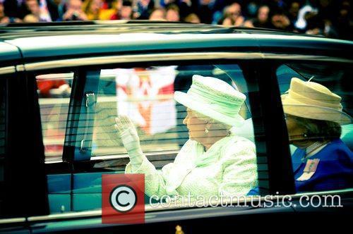 Queen Elizabeth II  Diamond Jubilee Procession...