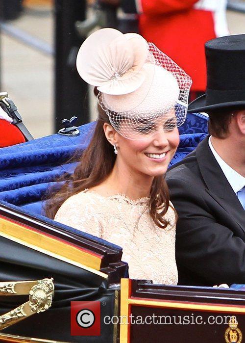 Catherine, Duchess of Cambridge The Queen's Diamond Jubilee...