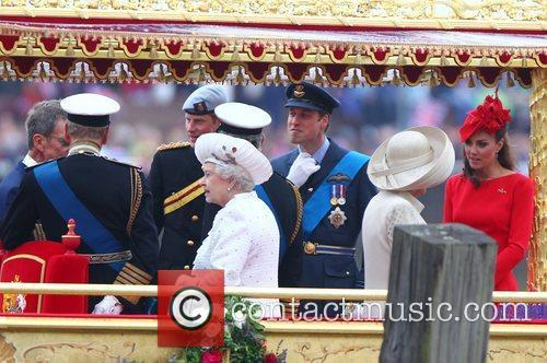 Prince Charles, Kate Middleton, Prince Harry, Prince William and Queen Elizabeth Ii 2