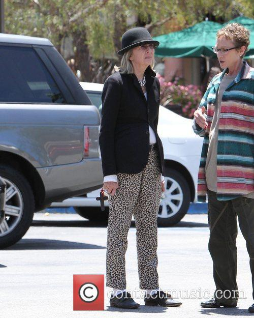 diane keaton leaving starbucks in malibu los 3910195
