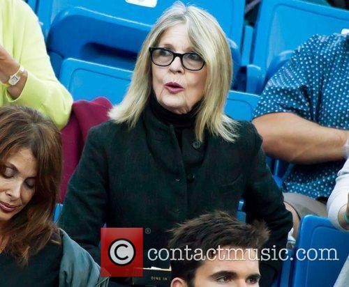 diane keaton watches sam querrey usa vs 4012146