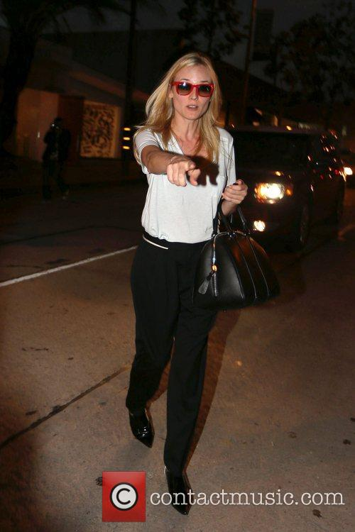 Seen leaving Salon Benjamin in West Hollywood.