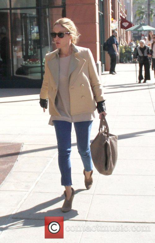 Diane Lane leaves a medical building in Beverly...