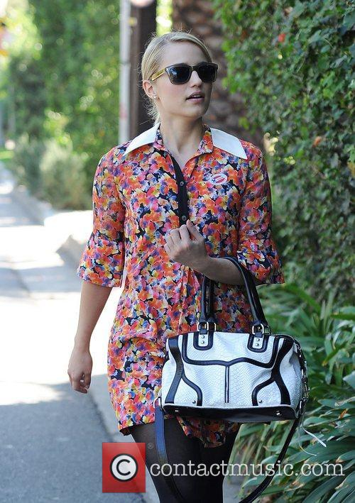 glee star dianna agron arriving at the 4163449